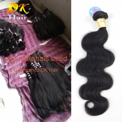 3 or 4 bundles Body Wave brazilian virgin hair weave 5A+