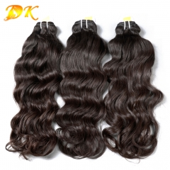 Indian Wavy1/2/3/4/5 bundles deal Luxury Raw Indian hair