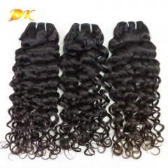 Italian Curly 1/2/3/4 bundles deal Luxury Raw hair