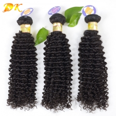 Jerry Kinky Curly 1/2/3/4 bundles deal Luxury Raw hair