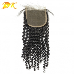 Deluxe Jerry Kinky Curly Virgin hair Lace Closure Lace Frontal 4x4 5x5 6x6 7x7 13x4 13x6