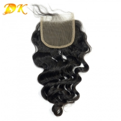 Deluxe Big Curly Virgin hair Lace Closure Lace Frontal 4x4 5x5 6x6 7x7 13x4 13x6