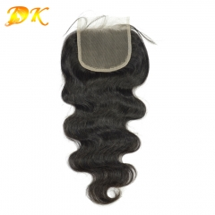 Deluxe Body wave Virgin hair Brown & HD Lace Closure Frontal 4x4 5x5 6x6 7x7 13x4 13x6