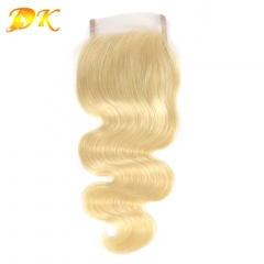 4x4 5x5 6x6 7x7 13x4 13x6 Lace Closure Frontal Body wave Blonde #613 Color Luxury Raw hair
