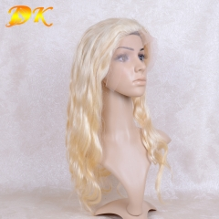 613# Blonde Body Wave Full lace Wig 100% human virgin hair