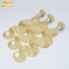 3 bundles 613# Blonde Body Wave Hair Brazilian virgin hair weave Hearts-A