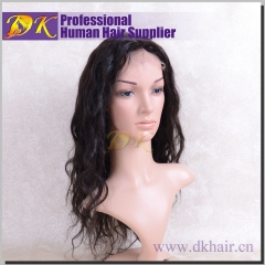 Elegant wave Hair Full lace Wig 100% human Deluxe hair