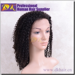 Loose Curly Hair Full lace Wig 100% human Deluxe hair