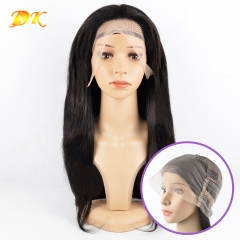 Straight Hair Full lace Wig 100% human virgin hair