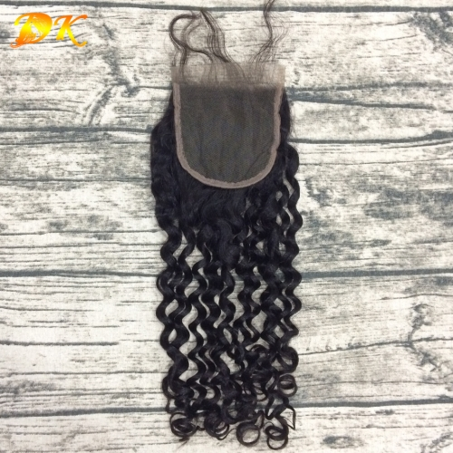 Plus Virgin Hair Italian Curly Brown & HD Lace Closure Frontal 4x4 5x5 6x6 7x7 13x4 13x6