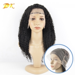 kinky Curly Hair Full lace Wig 100% human Deluxe hair