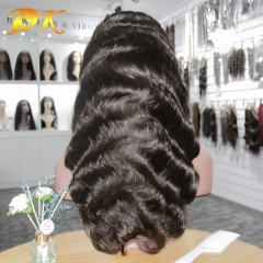 Body Wave Hair Full lace Wig 100% human Plus hair