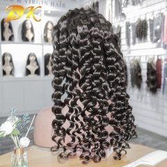 Loose Wave Hair Full lace Wig 100% human Plus hair
