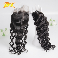 Italian Curly Bundle deals with Closure 4x4 5x5 6x6 Deluxe Virgin Hair