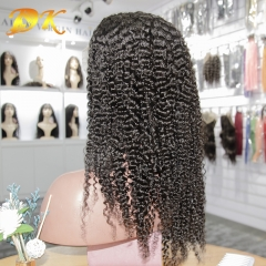 Kinky Curly Hair Full lace Wig 100% human Plus hair