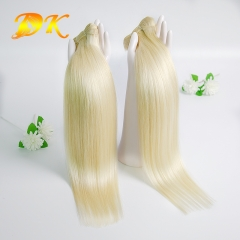 3 bundles 613# Blonde Straight Hair Peruvian virgin hair weave Hearts-A