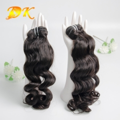 Indian Wavy 1/2/3/4 Bundles deal Deluxe Virgin Hair