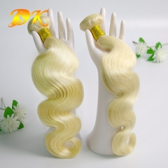 3 bundles 613# Blonde Body Wave Hair Peruvian virgin hair weave Hearts-A